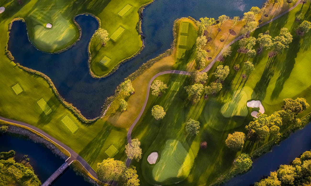 Drone, Aerial and commercial photography at Golf Course Adare Manor Limerick